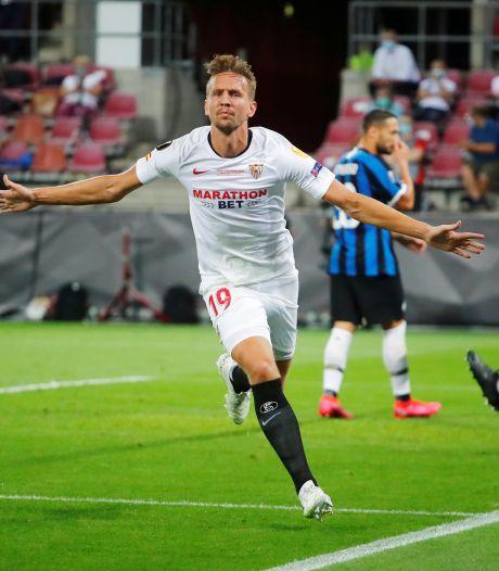 Luuk de Jong in voetsporen Van Hooijdonk na goals in Europa League-finale