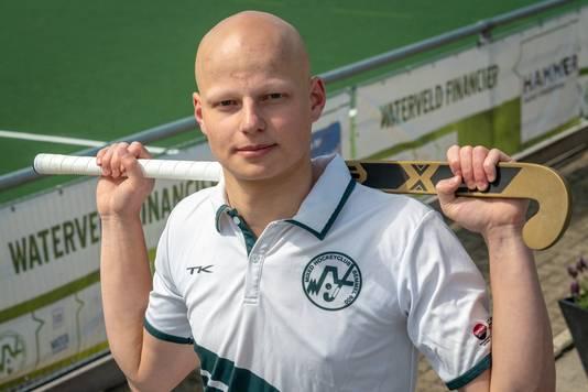 Arre van den Boogaard, topscorer van de regio Overbetuwe .