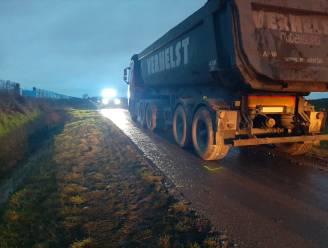 Fietser zwaargewond na ongeval met vrachtwagen tussen Stene en Snaaskerke