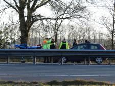 Gewonde na kop-staartbotsing op A1 bij Hoevelaken