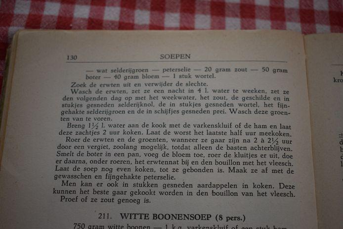 Uit het ouderwertse kookboek.