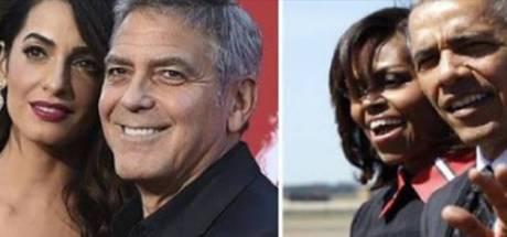 Le couple Clooney reçoit les Obama dans sa villa en Italie