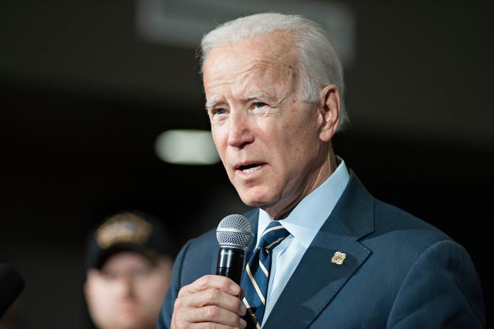 Le candidat démocrate à la Maison blanche Joe Biden