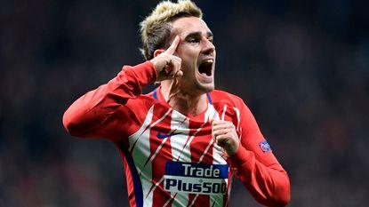 Dit gebeurde in CL: Griezmann grote held Atlético na fenomenale omhaal, Lukaku onderuit in slotminuten