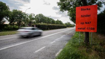 Europalaan (N47) krijgt scheurremmende laag: sterke hinder vanaf 17 augustus