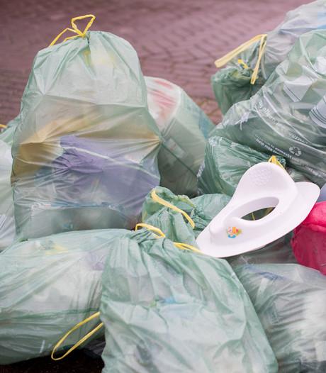 Strengere controle Woerden op te vroeg aanbieden plastic afval