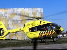 Landingsplaats voor traumaheli bij Maasziekenhuis in Boxmeer
