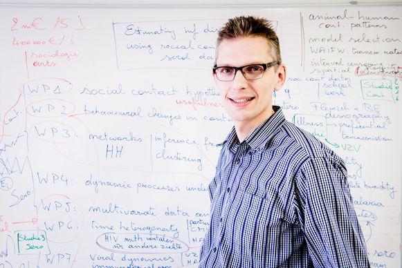 Professor Niel Hens  van UHasselt en UAntwerpen