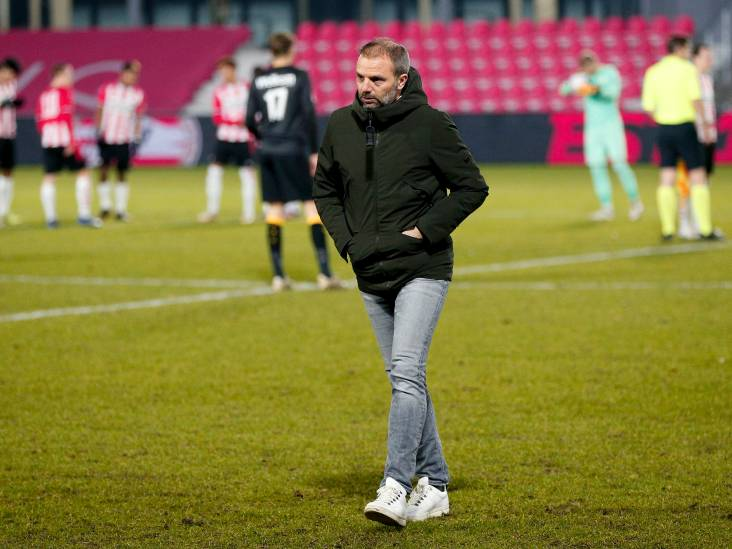 NAC-trainer Steijn: 'Het wordt steeds moeilijker om Cambuur en Almere te achterhalen'