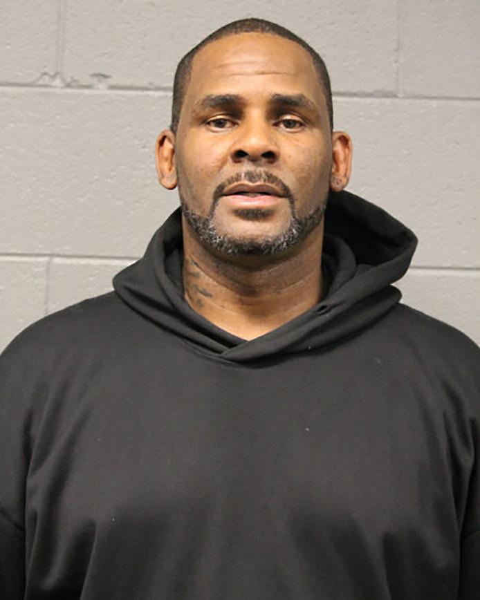 R. Kelly vlak na zijn arrestatie, eerder deze maand in Chicago.