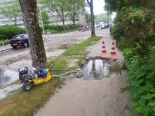Fietser en voetganger 'verdwijnen' in sinkhole in Liendert
