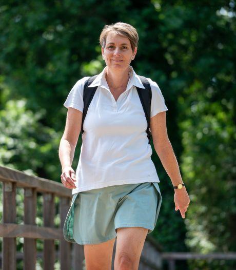 Jeanine loopt solo haar 'Nijmeegse Vierdaagse' ... gewoon door Brabant