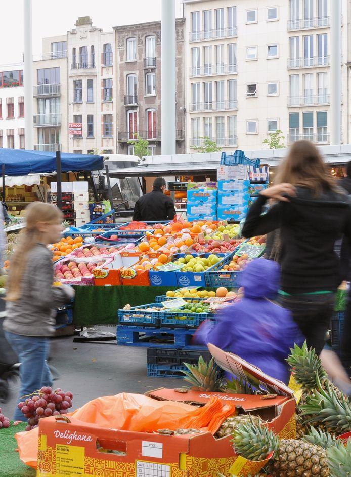 De Vogelenmarkt in Antwerpen