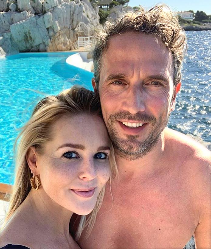 Chantal Janzen en haar man Marco Geeratz