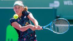 Elise Mertens wint amper drie games tegen Johanna Konta, titelverdedigster in Miami