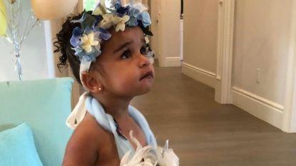 BINNENKIJKEN. Dream Kardashian viert haar tweede verjaardag in stijl