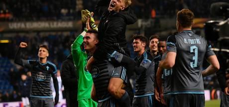 Celta de Vigo plaatst zich voor halve finales Europa League