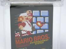 Zeldzame Super Mario Bros. levert meer dan 100.000 dollar op bij veiling