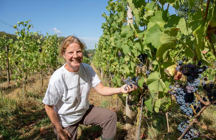 Esther Schoenmaker van Wagenings Wijngoed.