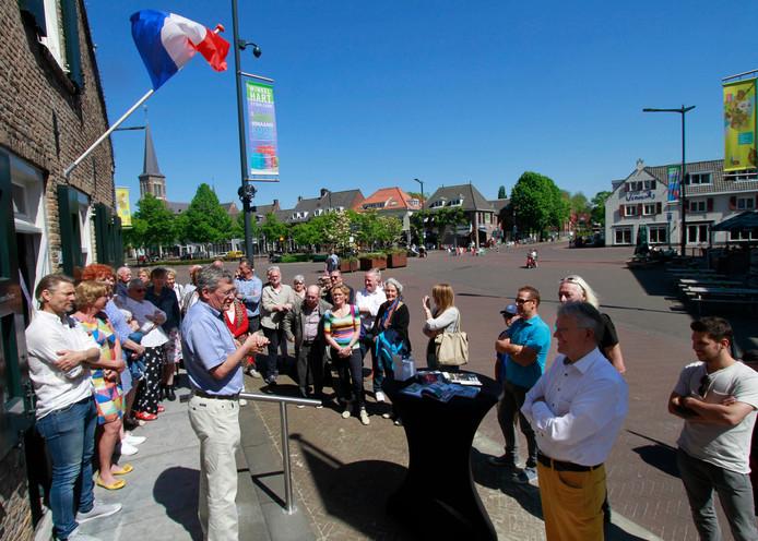 De opening van het Toeristisch Informatiepunt aan de Markt, in 2018. Sindsdien verwelkomde het ruim 4.500 bezoekers.