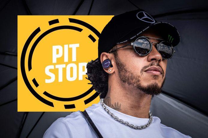 Podcast over Lewis Hamilton.