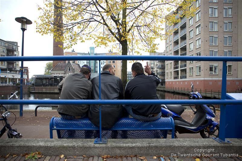 Zwervers rond stadsvijver zorgen regelmatig voor overlast. Foto: Rikkert Harink