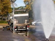 Twee Eindhovenaren opgepakt voor brand in busje vol synthetische drugs afkomstig van Urk
