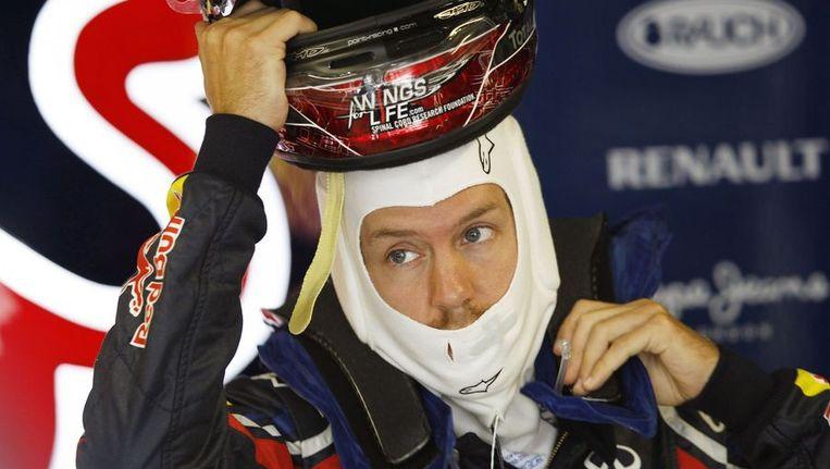 Sebastian Vettel. Beeld reuters