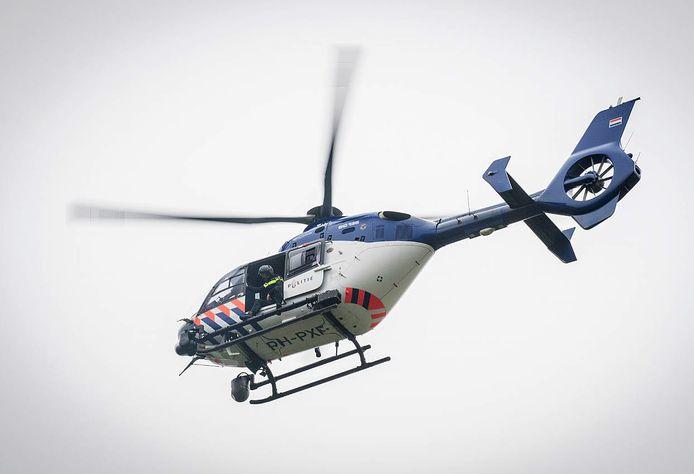 De politiehelikopter op archiefbeeld.