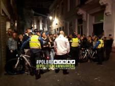 Horeca in Visserstraat laaiend op fouilleractie en afsluiten straat