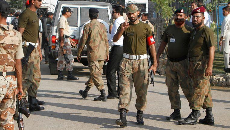 Pakistaanse soldaten Beeld AP
