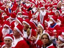 1200 kerstmannen rennen voor Serious Request
