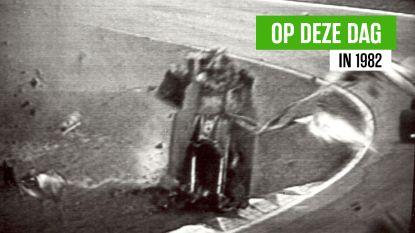 38 jaar geleden: Gilles Villeneuve verongelukt bij vreselijke crash op circuit van Zolder