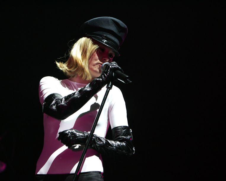 Róisín Murphy treed op bij de Heineken Musical Hall in Amsterdam, 2007. Beeld WireImage