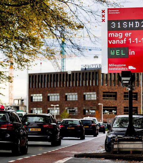Raad van State: Amsterdam mag oude bestelauto's weren