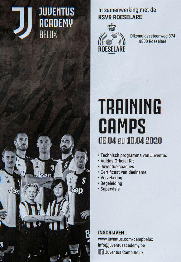 Juventus Academy in samenwerking met KSVR Roeselare.
