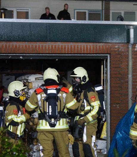 Grote schade aan werkplaats na brand in Kaatsheuvel