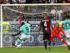 Cagliari ontsnapt aan sancties na racisme richting Lukaku