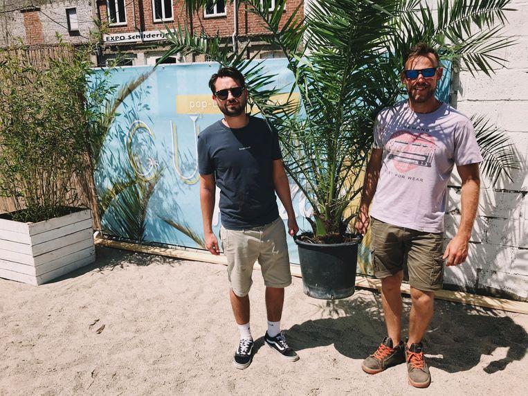 Cubar Plaza: Broes De Scheemaecker en Tom De Winne.