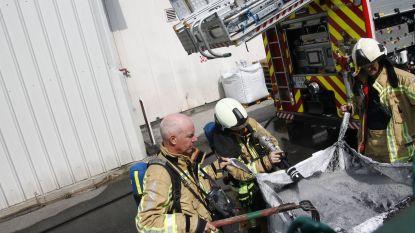 Afzuiginstallatie in fabriek raakt oververhit