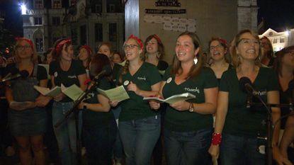 1.000 man opgedaagd om Disneyliedjes te zingen in Gent