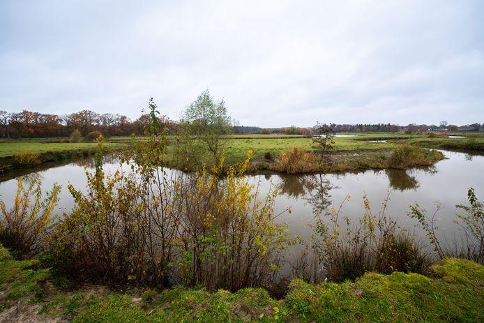 Het Markdal tussen Bieberg en Reeptiend op Bredaas grondgebied.