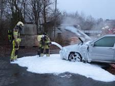 Autobrand in Haarle