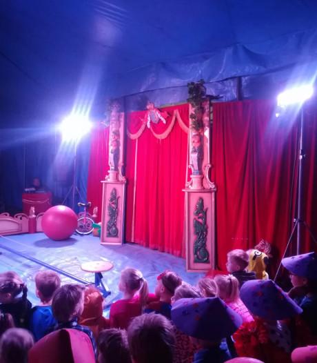 Feestje De Rank Hengelo in eigen circus
