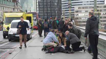Foto's tonen gruwel meteen na aanval op brug in Londen