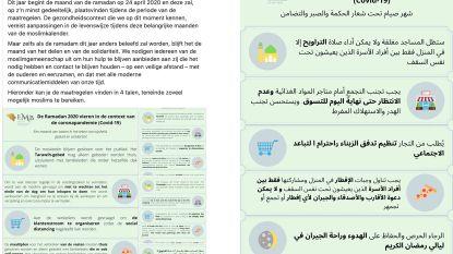 Arabische tekst op gemeentelijke Facebookpagina veroorzaakt rel: gemeente stuurt politie op inwoner af