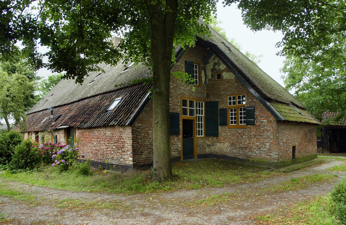 Monumentale boerderij in Den Dungen, die Jeroen Bosch vermoedelijk schilderde.