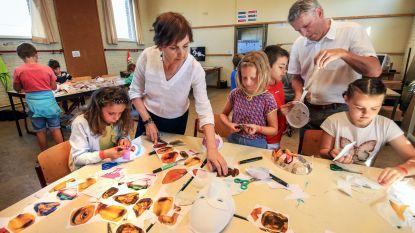 600 leerlingen op bezoek in de Kunstacademie