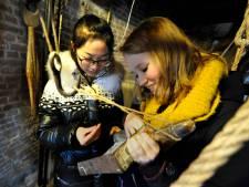 Chinese scholieren volgen lessen op Kalsbeek College Woerden