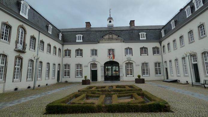 Het gemeentehuis in Vaals.